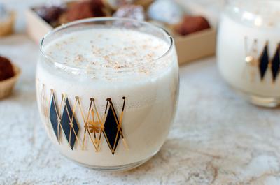 Cappuccino-Inspired Eggnog