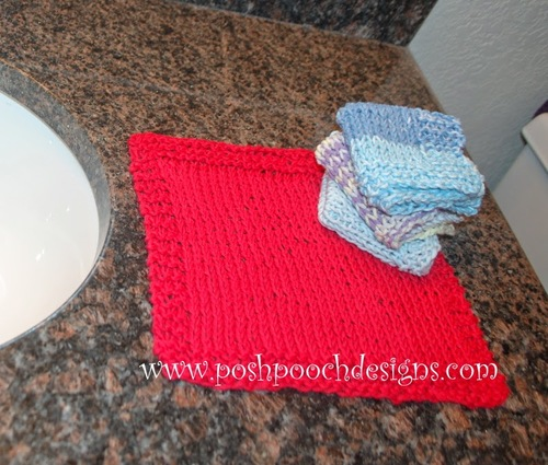 Super Easy Beginner Washcloth