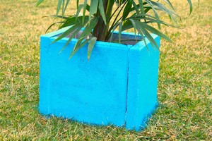 How to Build a Paver Planter