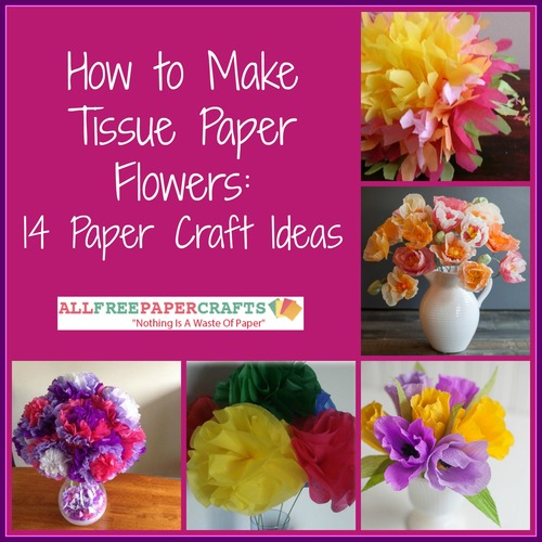 how to make tissue paper stiff