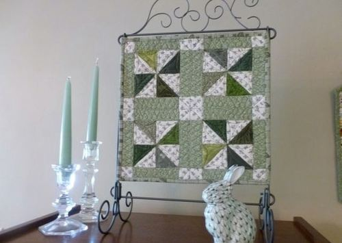 Forest Paths Mini Quilt