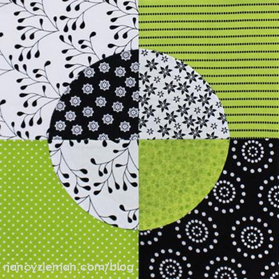 Quarter Circle Quilt Block Pattern Favequilts Com
