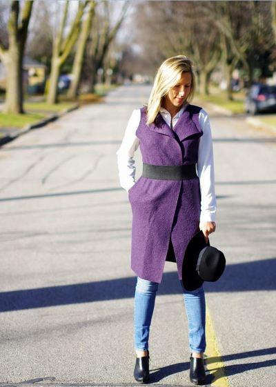DIY Sleeveless Vest or Jacket | AllFreeSewing.com
