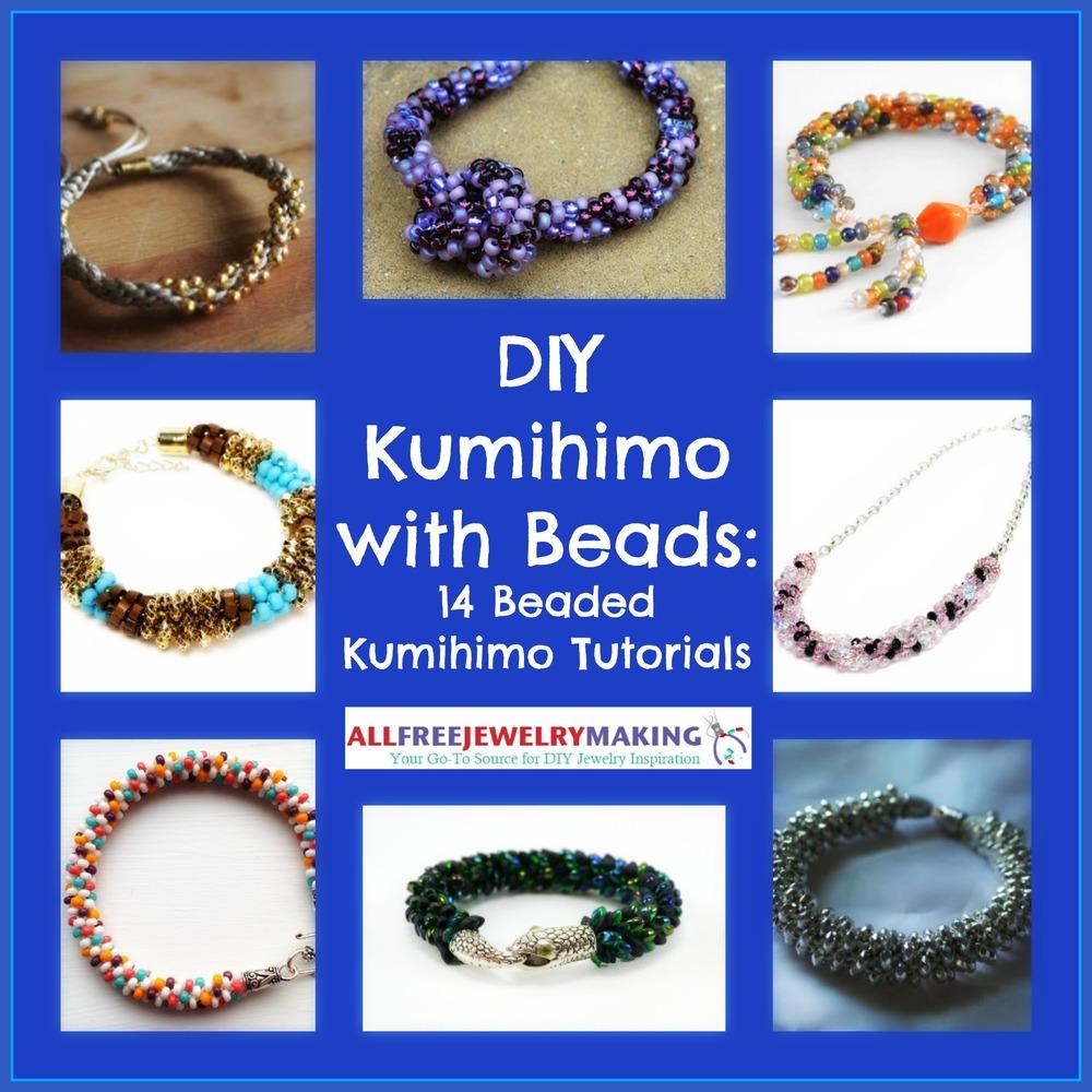 Diy Kumihimo With Beads 14 Beaded Kumihimo Tutorials
