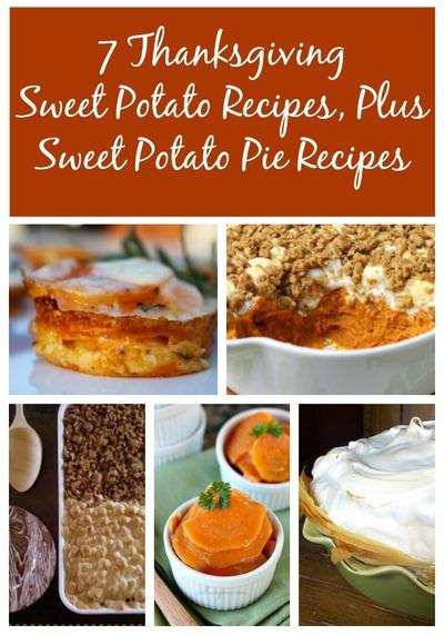 7 Thanksgiving Sweet Potato Recipes, Plus Sweet Potato Pie Recipes