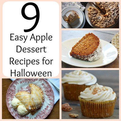 9 Easy Apple Dessert Recipes for Halloween
