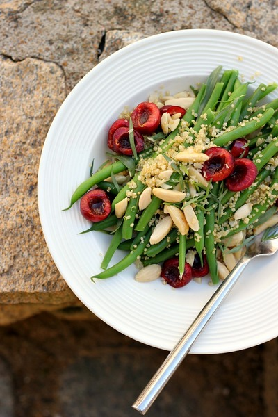 Green Bean Quinoa and Tarragon Salad