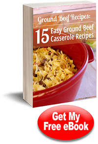 """Ground Beef Recipes: 15 Easy Ground Beef Casserole Recipes"" eCookbook"