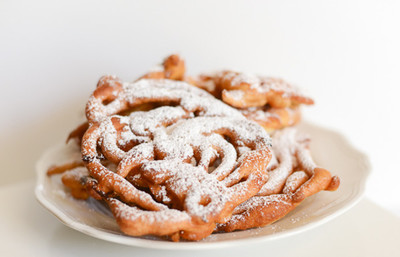 Hot and Flaky Funnel Cake Recipe