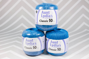 Aunt Lydia's Classic Size 10 Crochet Thread
