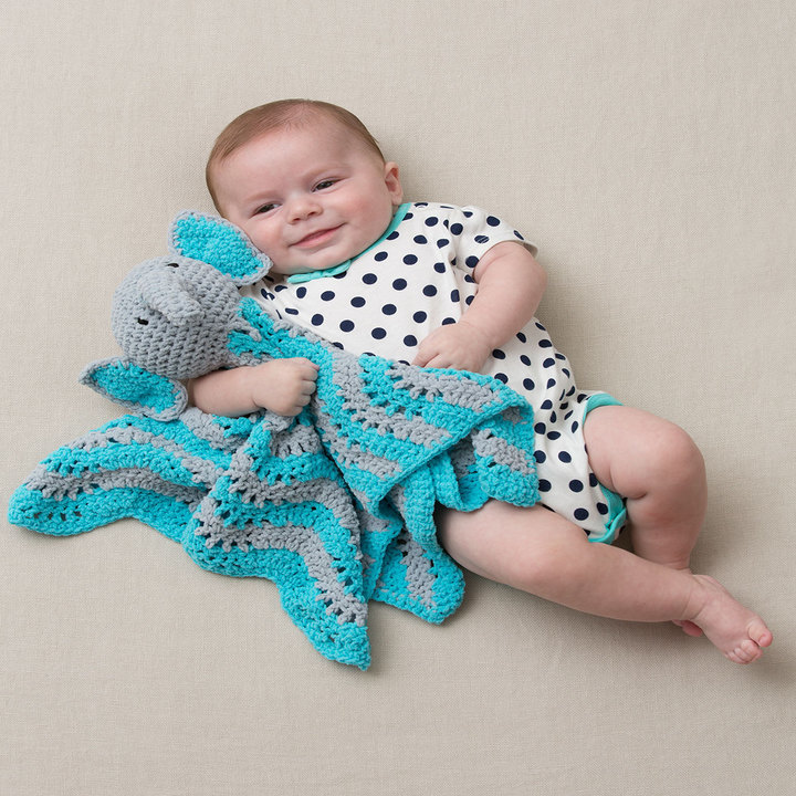 Little Elephant Baby Blanket Crochet Pattern ...