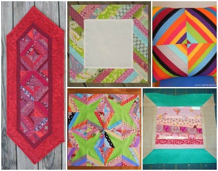 Super String Quilts 13 Paper Piecing And Scrap Quilt