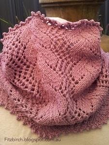 Victorian Lace Cowl Allfreeknitting Com