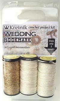 Crochet Wedding Bookmark Kit