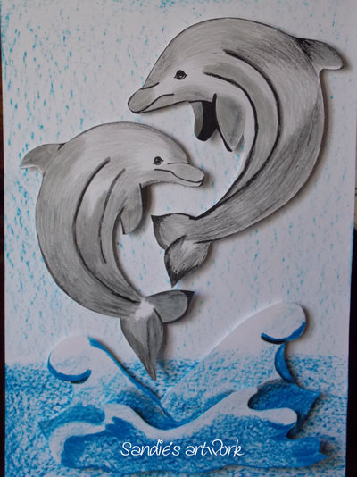 3D Dolphin Picture
