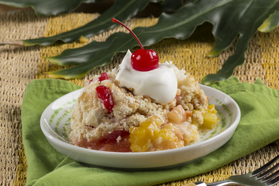 Tropical Fruit Dump Cake