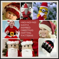 14 Santa Inspired Christmas Knitting Patterns