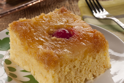 Quick Pineapple Upside Down Cake