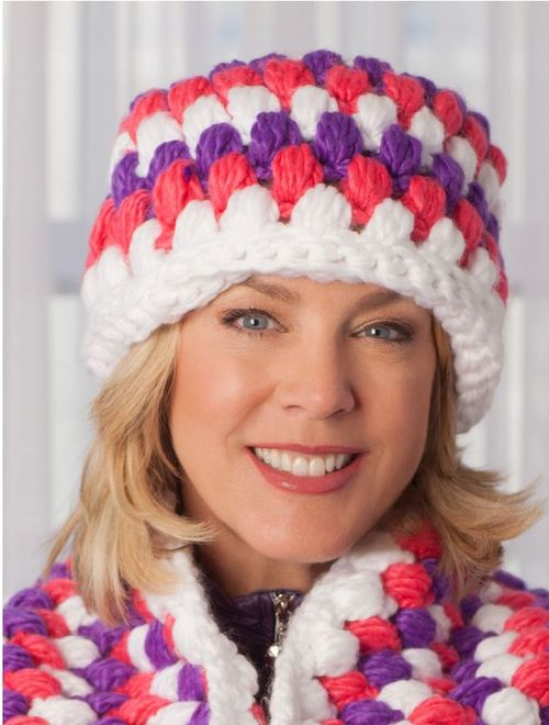 Premium Puff Stitch Crochet Hat