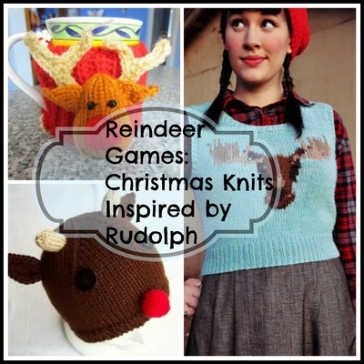 Reindeer Games Christmas Knits Inspired by Rudolph