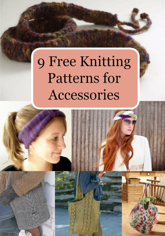 9 Free Knitting Patterns for Accessories FaveCrafts.com