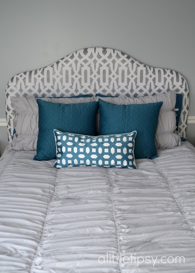 Upholstered DIY Headboard