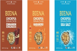 Biena Chickpea Snack Review