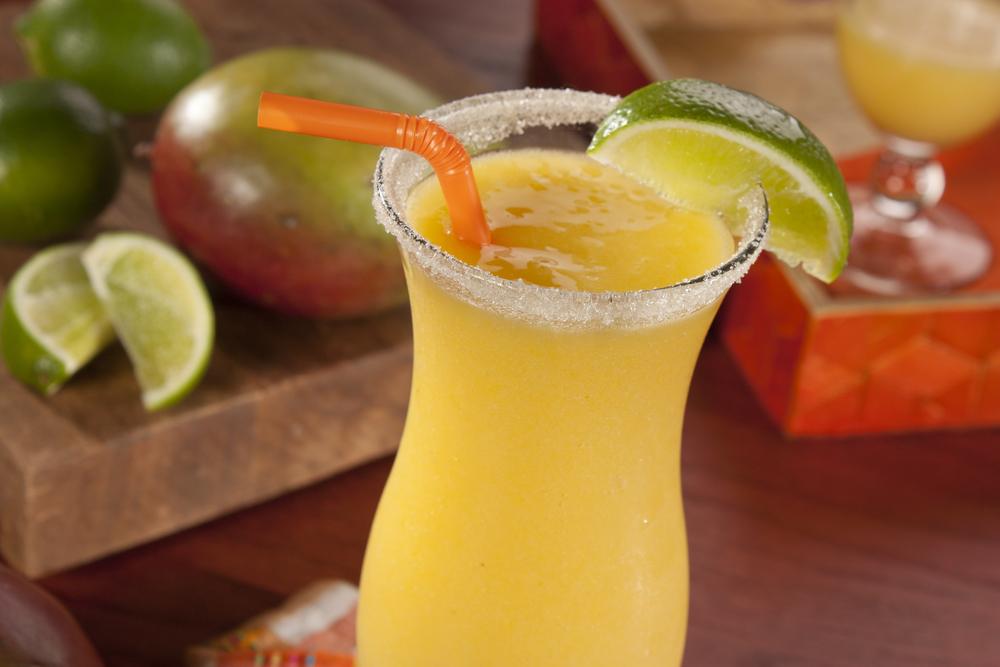 Frozen Mango Daiquiri | MrFood.com