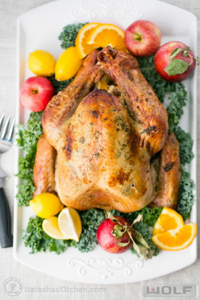 Delicious Juicy Roast Turkey Recipe