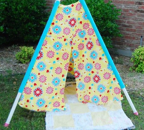 Lets Make a Play Tent