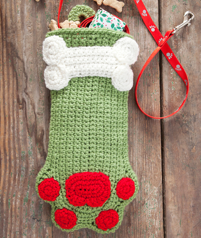 Decorative Doggie Stocking