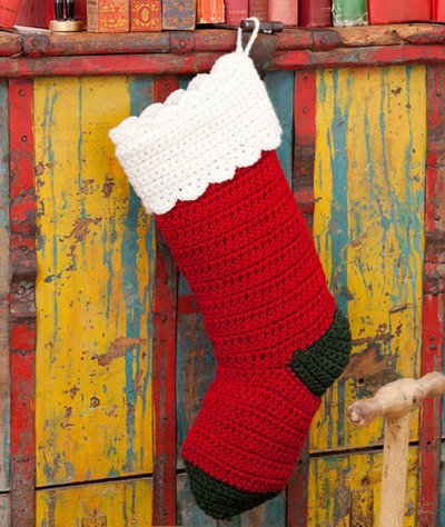 Quick and Easy Christmas Stocking
