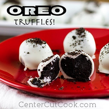 Ridiculously Easy 3 Ingredient Oreo Balls