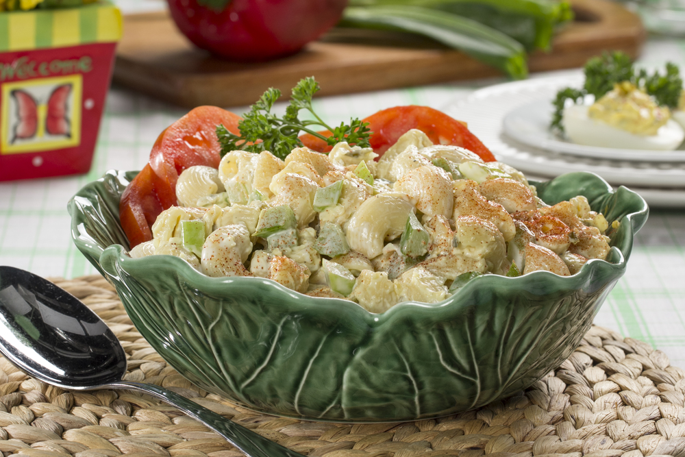 Deviled egg macaroni salad for How to make homemade deviled egg potato salad