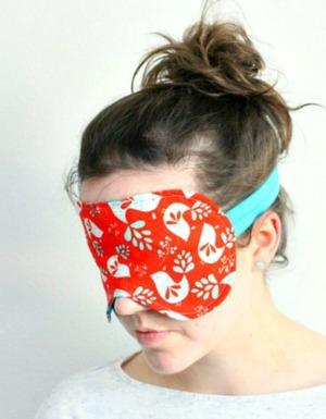 Oversized Diy Sleep Mask Allfreesewing Com