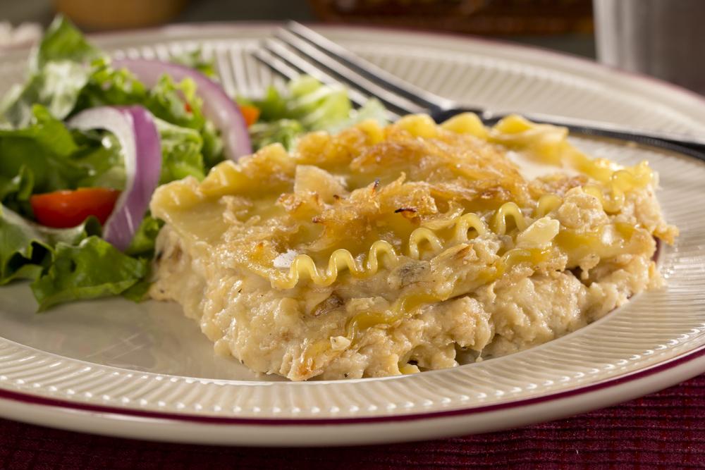 Pierogi Lasagna   MrFood.com