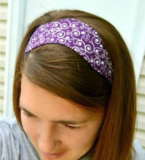 Easy Scallop Headband