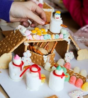 Gingerbread Nativity Manger Scene
