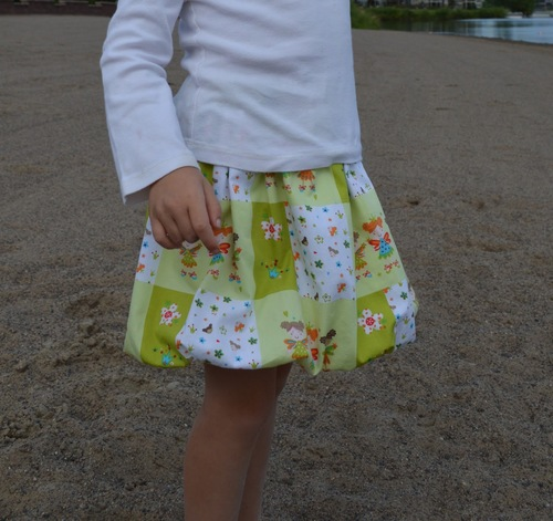 The Easiest Bubble Skirt
