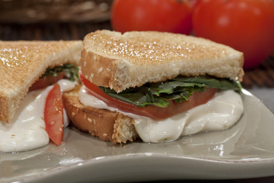 Caprese-Style Grilled Cheese