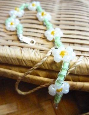 Daisy Chain Beaded Bracelet Pattern