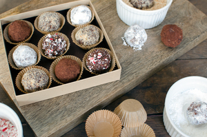Gourmet DIY Chocolate Bourbon Truffles