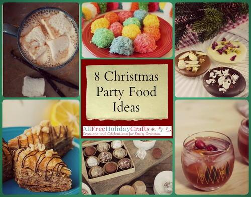 8 sweet christmas party food ideas - Christmas Party Menu Ideas