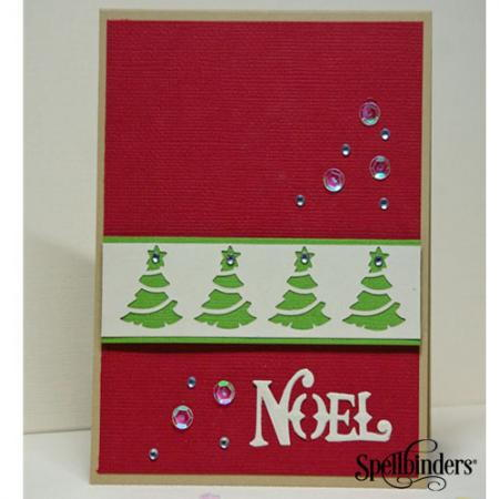 Festive Noel DIY Christmas Card