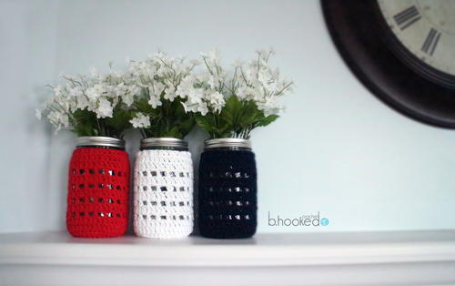 Quaint Mason Jar Cover