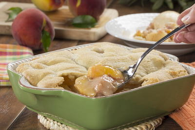 Cookie Peach Cobbler