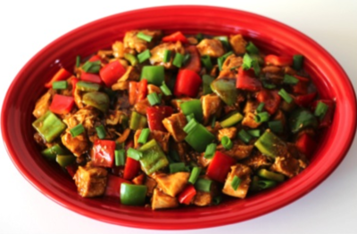 5-Ingredient Slow Cooker Kung Pao Chicken