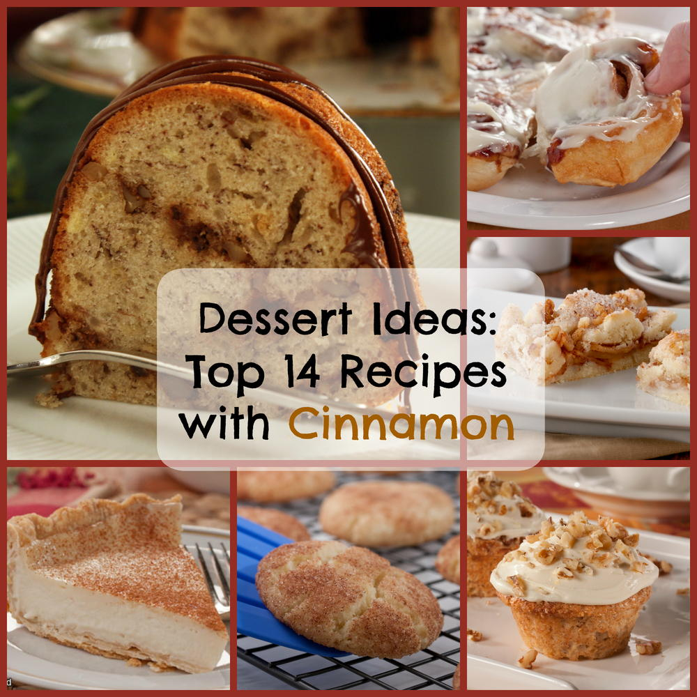 Dessert Ideas: Top 14 Recipes With Cinnamon