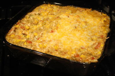Four Can Mexican Casserole