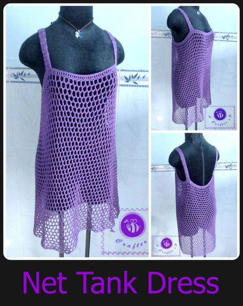 Easy Net Tank Dress